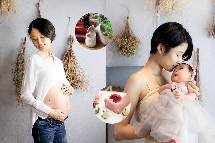 赤ちゃん誕生のビフォーアフター