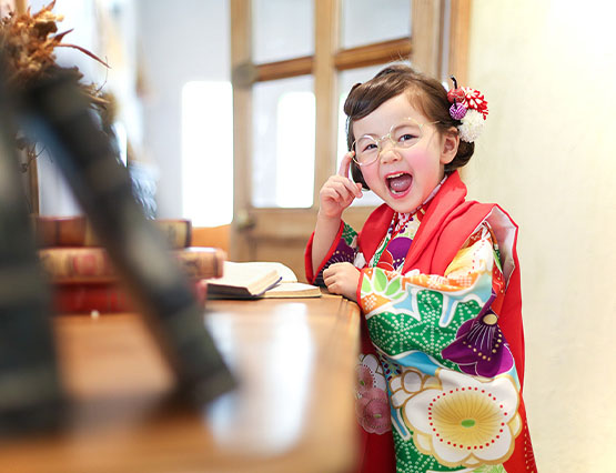 3歳女の子・七五三外出レンタル